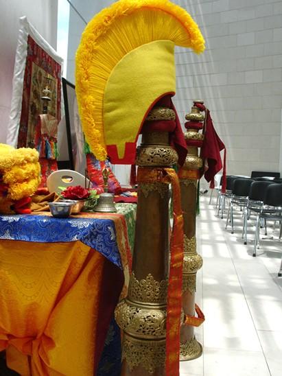 Tibetan Monks closing ceremony