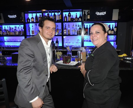 Owner Aurash Kheradmandi  & Chef Amie Linton