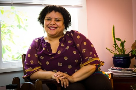 Playwright and producer Marsha T. Jones has mined her own experiences to bring light to childhood sexual abuse. - JON WAITS/@JWAITSPHOTO