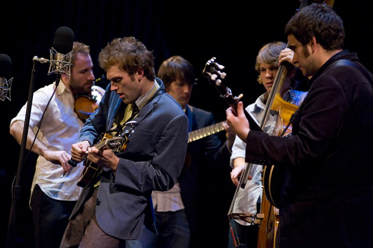 Punch Brothers Savannah Music Festival Lucas Theatre March 28, 2009