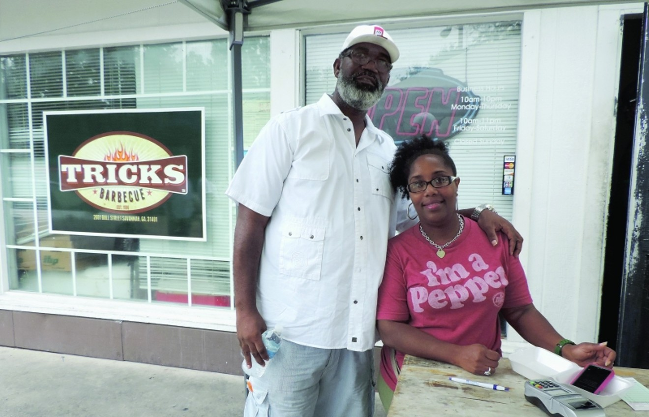 Ricky and Maureen Walker, owners of Trick's BBQ. Photo by Cheryl Baisden Solis
