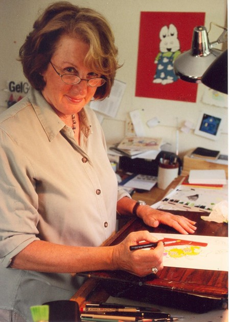 Rosemary Wells has penned and painted more than 100 books for children.
