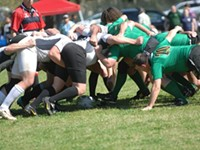 A scrum of a good time