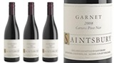 Saintsbury 2008 is more fruit forward and much bolder than the typical Garnet release