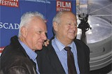 Savannah Film Fest Lifetime Achievement Award honoree Malcolm McDowell and famed publicist Bobby Zarem