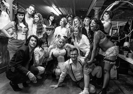 Savannah Sweet Tease celebrated their one-year anniversary and are part of the local burlesque explosion.