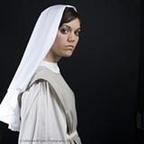 SCAD senior Gina Hughes stars in 'Agnes of God.'