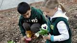 SCD students enjoy various gardening opportunities