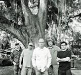 Scotty Rahn (center) is back in full swing as Junkyard Angel's resident songwriter-in-chief.