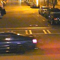 Police seek driver that vandalized park