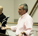JT BLATTY - Stratton Leopold, Savannah native and film producer at a recent speech at the JEA