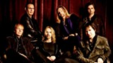 """Styx today - James """"JY"""" Young is at far left; Tommy Shaw at center"""