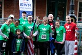 Team RWB members support each other through a variety of athletic and social activities. Photos by Daryle-Lynn Roberts.