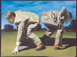 Texas Two Step is part of Gregory Eitringham's show at Pinnacle Gallery.