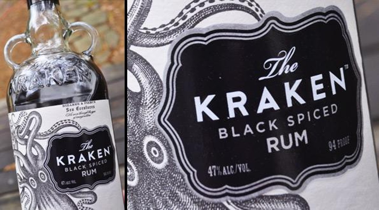 Release the kraken cuisine feature savannah news - Kraken rum pictures ...