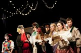 The AASU Masquers test the bounderies of buffoonery with George Herman's A Company of Wayward Saints.