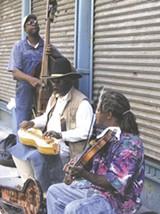 The Ebony Hillbillies perform