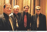 The Jeff Beasley Band. Left to Right: Billy Hoffman, James Moody, Jeff Beasley, Mike Perry