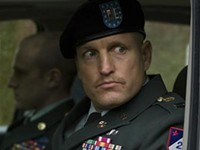 Extreme closeup: Woody Harrelson