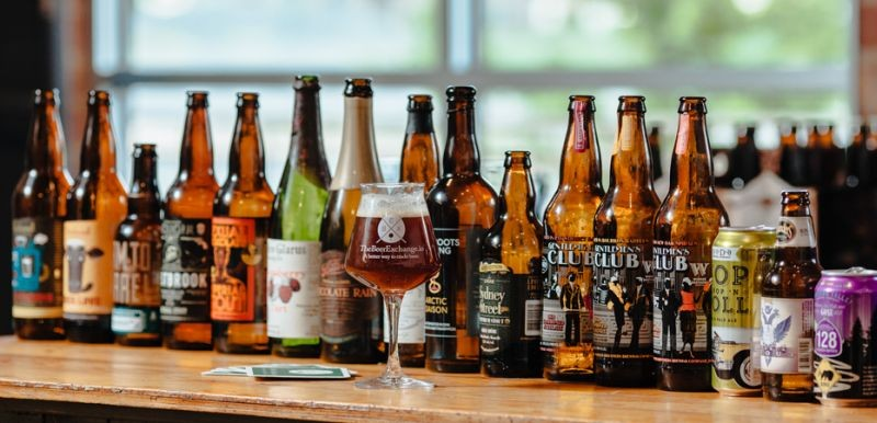The most in-demand breweries on the Beer Exchange are Indiana's Three Floyds, California's Russian River and The Bruery, Anheuser-Busch InBev-owned Goose Island, and Florida's Cigar City.