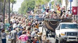 The Pirate Fest parade on Butler Avenue starts at 3 p.m. Saturday