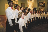 The Savannah Childrens Choir performing at the Telfair recently