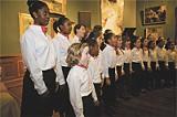 The Savannah Childrens Choir performing at the Telfair recently