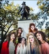 GEOFF L. JOHNSON - This past Saturday the models put on full make-up and costume for a run-through