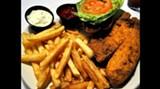 Tilapia sandwich at Dillinger's