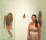 Tina Diamond at her 'C'est Moi' reception