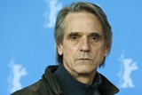 Today's special guest Jeremy Irons