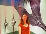 "Tricia Cookson shows off ""Ubiquity and Balance"" at Desotorow Gallery."