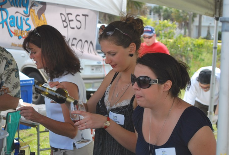 Tybee Wine Festival 2010
