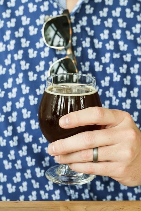 Arches Brick & Maple brown ale.