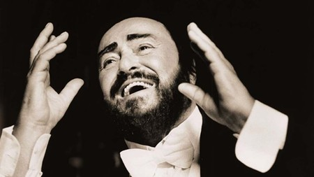 "From ""Pavarotti."""