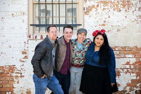Chris Stanley, Trey Norris, Brianna Halverson, and Jayme Tinti - PHOTO BY MEGAN JONES