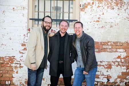 David Poole, Travis Coles, and Chris Stanley. - PHOTO BY MEGAN JONES