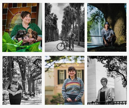 Local photographer and longtime Connect contributor Geoff L. Johnson did some outstanding portrait work on the series.