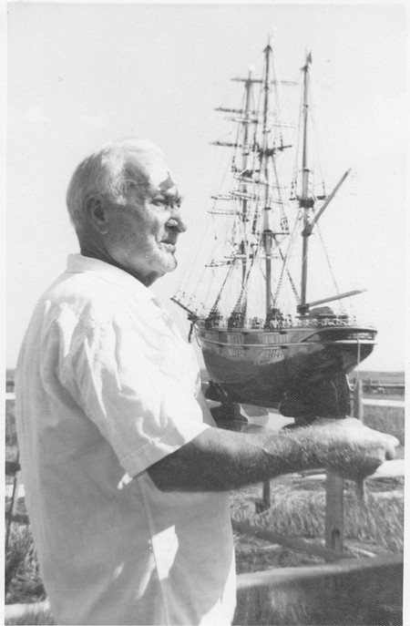 """From Sicily to Savannah: Giuseppe """"Joseph"""" Gallettini spent his career around ships and made a profession out of his hobby of building meticulously detailed models of his favorites."""