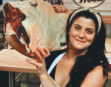 Butcher, baker and author Cara Nicoletti