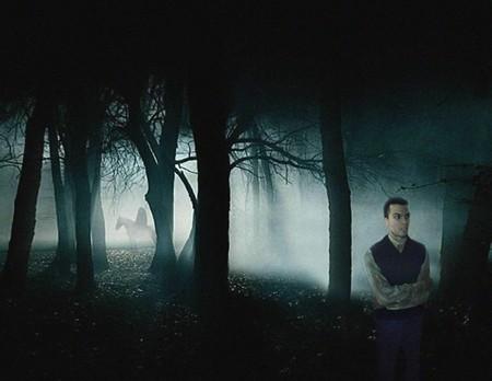 Kevin Santana, who plays Ichabod Crane, surveys his eerie new home of Sleepy Hollow.