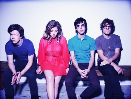 Festival headliners Ra Ra Riot kick off the weekend on Thursday at Ships of the Sea's North Garden.