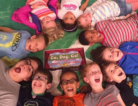 Ready? Set? GO! The kids of Savannah Children's Theatre are ready for a colorful, fun time onstage with Go, Dog. Go!
