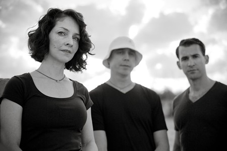 Dennis Barber, Anne dos Santos, and Jason Beck, founders of My Maiden Name. - PHOTO BY CRAIG TANNER