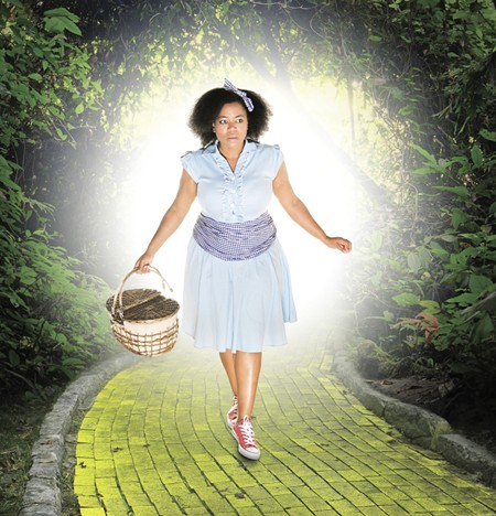Hillary Lewis stars as Dorothy. It's the Hinesville native's SSC debut. - DAMIEN MILLS, TRULY MADLY DEEPLY