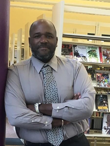 Live Oak Public Libraries interim director Jason Broughton