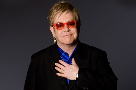 That's SIR Elton to you