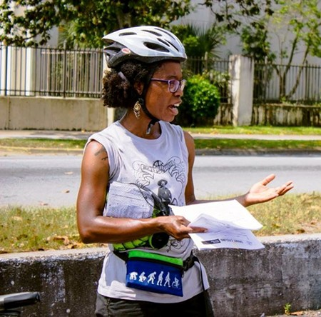 The BikeSAV classes will be led by Nedra Deadwyler, education program manager for the statewide advocacy group, Georgia Bikes! - PHOTO BY CAILA BROWN