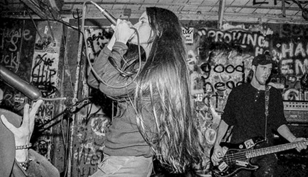 Damad in the band's heyday. - MATT AVERAGE