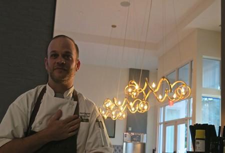 Chef Herrington - PHOTOS BY MELISSA DELYNN